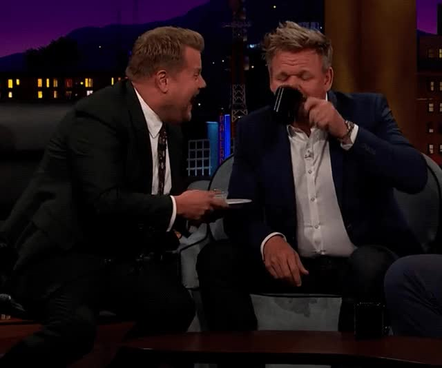 Watch and share Late Late Show GIFs and Gordon Ramsay GIFs by Reactions on Gfycat