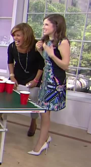 AnnaKendrick, Anna Kendrick Today Show Beer Pong GIFs