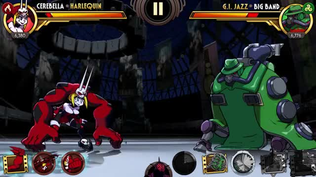 Watch Big Band New Gold Variant Preview GIF by Skullgirls Mobile (@sgmobile) on Gfycat. Discover more sgmobile, skullgirls GIFs on Gfycat