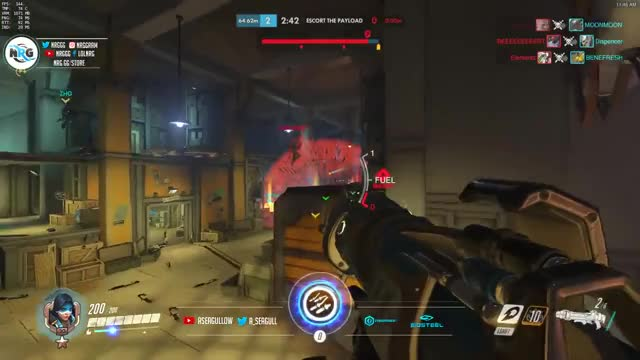 Overwatch A_Seagull Playing Epic Games With Multiple Heroes - Best Streamer -
