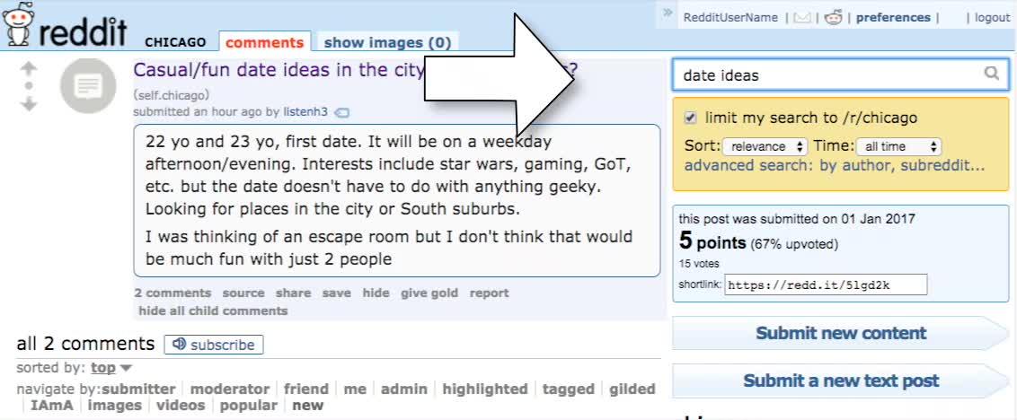 chicago dating reddit