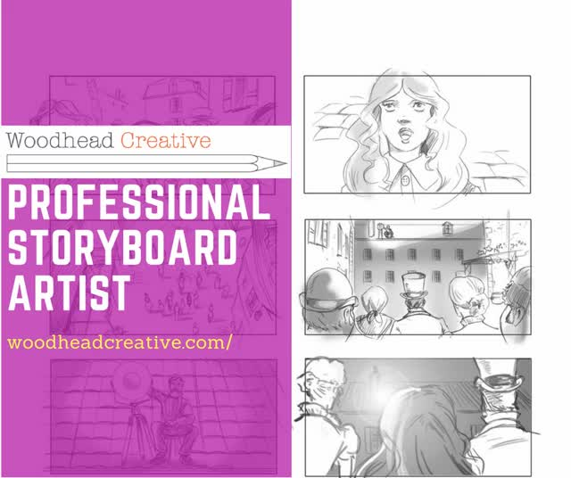 Watch and share Storyboard Artist GIFs by woodheadcreative on Gfycat