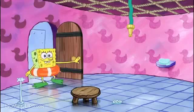 Watch and share Morning Routine - The SpongeBob SquarePants Movie (2/10) Movie CLIP (2004) HD GIFs on Gfycat