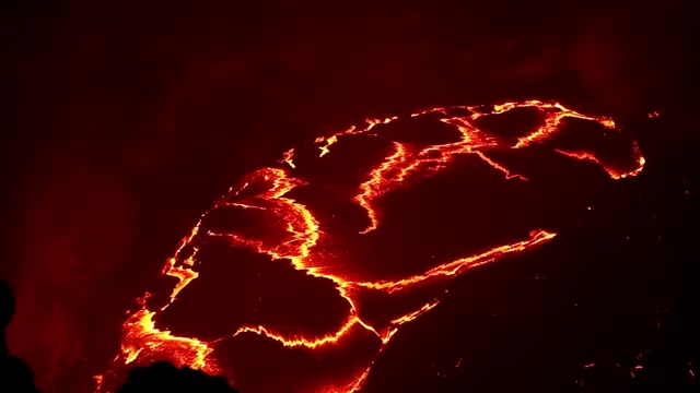 Watch Erta Ale - The lake GIF on Gfycat. Discover more Boiling, Collapse, Erta Ale, Ethiopia, Extreme, Lake, Volcano, lava GIFs on Gfycat
