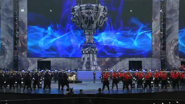 Watch and share Worlds 2017 Grand Final Opening Ceremony League Of Legends World Championship 2017 Opening Ceremony GIFs on Gfycat