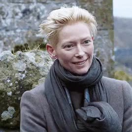 Watch this celebrity GIF on Gfycat. Discover more *, 2014, Mercedes Benz, Tilda Swinton, behind the scenes, gifs, interviews, other projects, tildaswintonedit GIFs on Gfycat