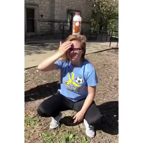 Watch and share Bottle Cap Challenge WCGW Whatcouldgowrong GIFs on Gfycat