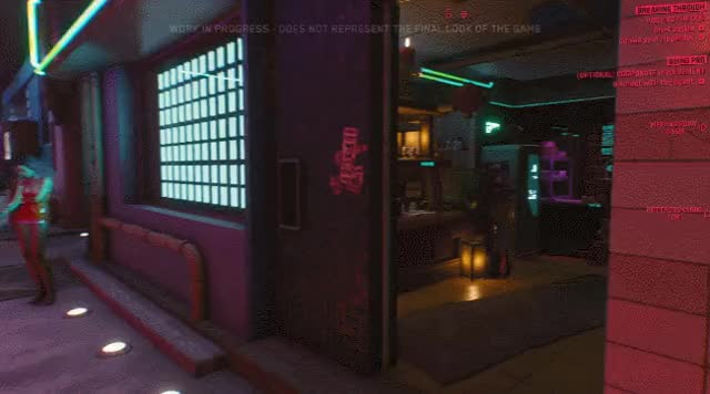 Watch Cyberpunk dialogue GIF by wesfenlon on Gfycat. Discover more related GIFs on Gfycat