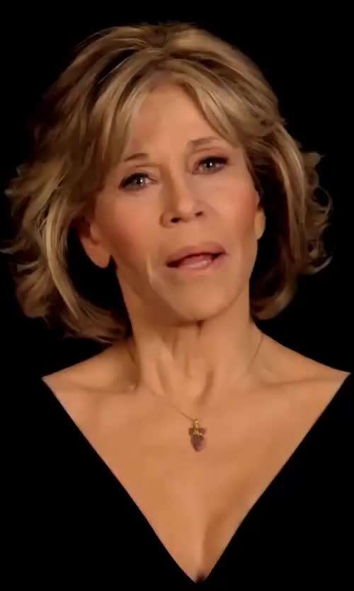Watch and share Jane Fonda GIFs on Gfycat