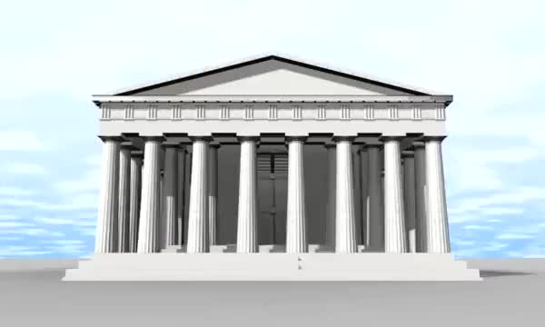Watch PARTHENON 360 GIF by @ftrzoll on Gfycat. Discover more History, arts, visual GIFs on Gfycat