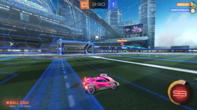 Watch and share Rocket League GIFs and Bad Teammate GIFs by iBlued on Gfycat