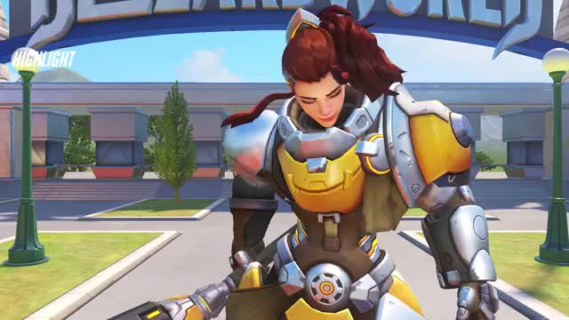 Watch and share Overwatch GIFs and Brigitte GIFs on Gfycat