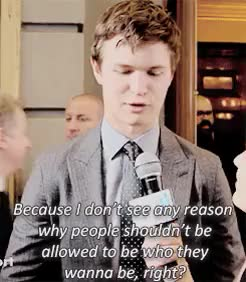 Watch I love you, too, Beatrice. GIF on Gfycat. Discover more ansel elgort, anselelgortedit, divergent cast, mine, qt GIFs on Gfycat