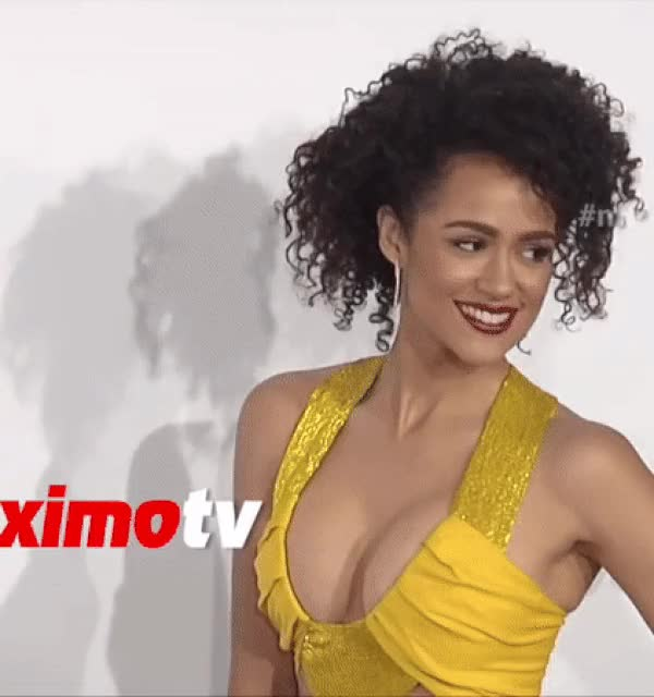 Watch and share Nathalie Emmanuel GIFs and Red Carpet GIFs by hfhhju on Gfycat