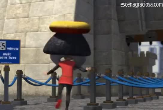 Watch and share Escena Graciosa De ''Shrek 1''. Llegada A Duloc GIFs on Gfycat