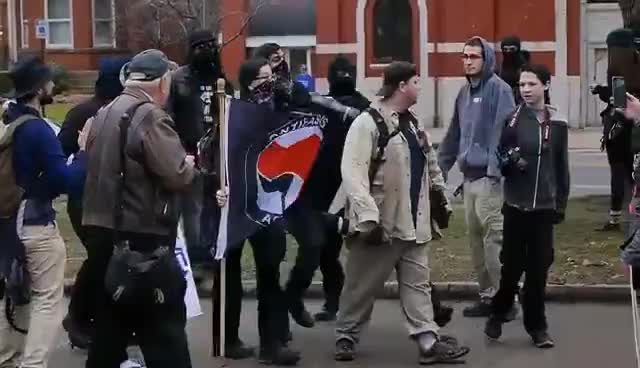Unmasking the Anarchists of Rochester, NY GIFs