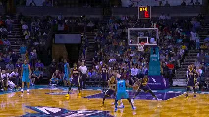 Watch and share Kemba Walker — Charlotte Hornets GIFs by Off-Hand on Gfycat