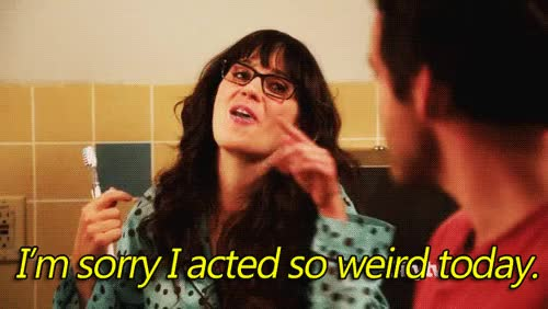 Watch and share Zooey Deschanel GIFs and New Girl GIFs on Gfycat