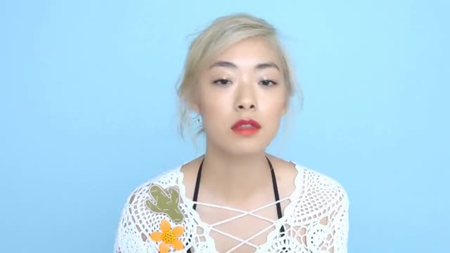 Watch and share Coral Two-tone Lips Make-up Tutorial With Rina Sawayama | ASOS Beauty How-Tos GIFs on Gfycat