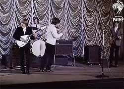 Watch Around and Around, 1964. GIF on Gfycat. Discover more 1964, 60s, bill wyman, blues, brian jones, charlie watts, gather moss, keith richards, mick jagger, rock classic, rocn n roll, sixties, stones, the rolling stones GIFs on Gfycat
