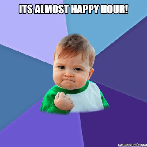 Watch and share Happy Hour GIFs on Gfycat