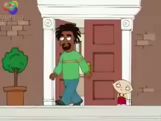 Watch and share Family Guy Bobby McFerrin Falls Down Stairs GIFs on Gfycat