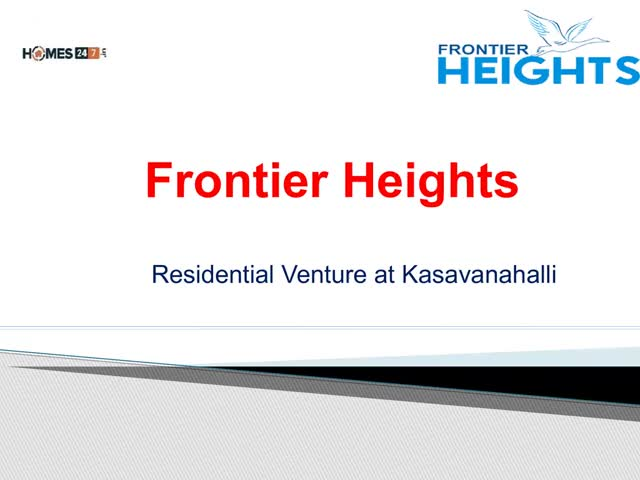 Watch and share Frontier Heights  | Apartments In Kasavanahalli GIFs by Homes247 on Gfycat