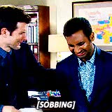 Watch and share Tom Haverford GIFs and Terry Gergich GIFs on Gfycat