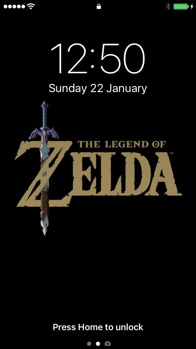 Zelda Breath Of The Wild Live Photo Wallpaper Gif Gfycat
