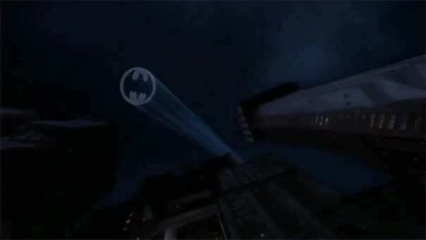 Watch and share Bat Signal GIFs and Batmobile GIFs by AEARONJER CIRCUMSTANCE on Gfycat