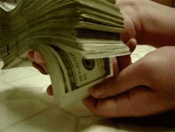 cash, dollars, money, mula, Money GIFs