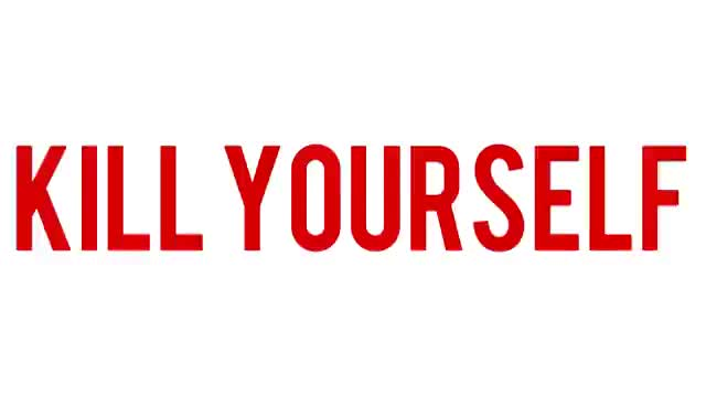 Watch and share Kill Yourself GIFs on Gfycat