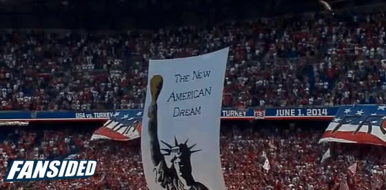 Watch American Outlaws New American Dream tifo GIF by @mikedyce on Gfycat. Discover more related GIFs on Gfycat