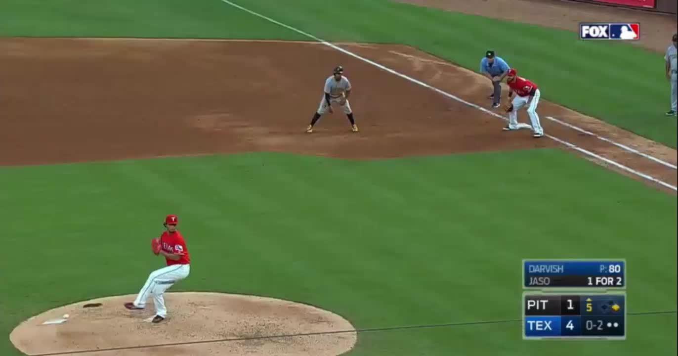 baseball, texasrangers, #7, Jaso, 89 mph splitter (reddit) GIFs