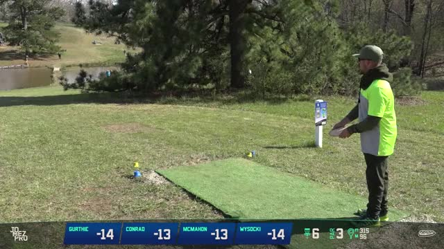 Watch 2018 Jonesboro Open | Rd2, F9, MPO | Garrett Gurthie hole 6 drive GIF by Benn Wineka UWDG (@bennwineka) on Gfycat. Discover more JomezPro, Sports, disc golf, disc golf 2018, jomez, jomez disc golf GIFs on Gfycat