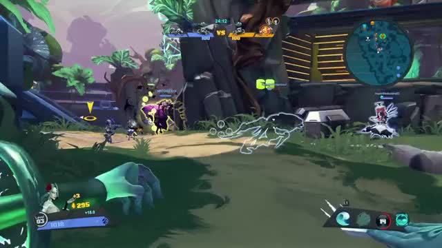 Watch and share Battleborn GIFs and Healing GIFs by Old Man Cranky on Gfycat