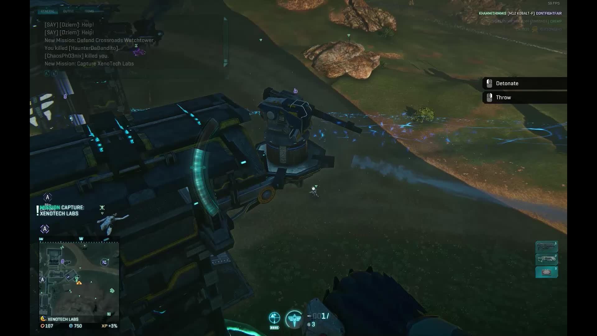 planetside, planetside2 crossbow kill GIFs