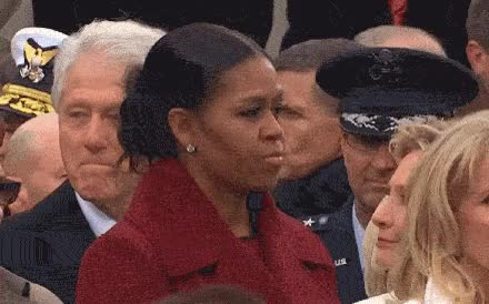 Watch and share Michelle Obama GIFs and Bill Clinton GIFs on Gfycat