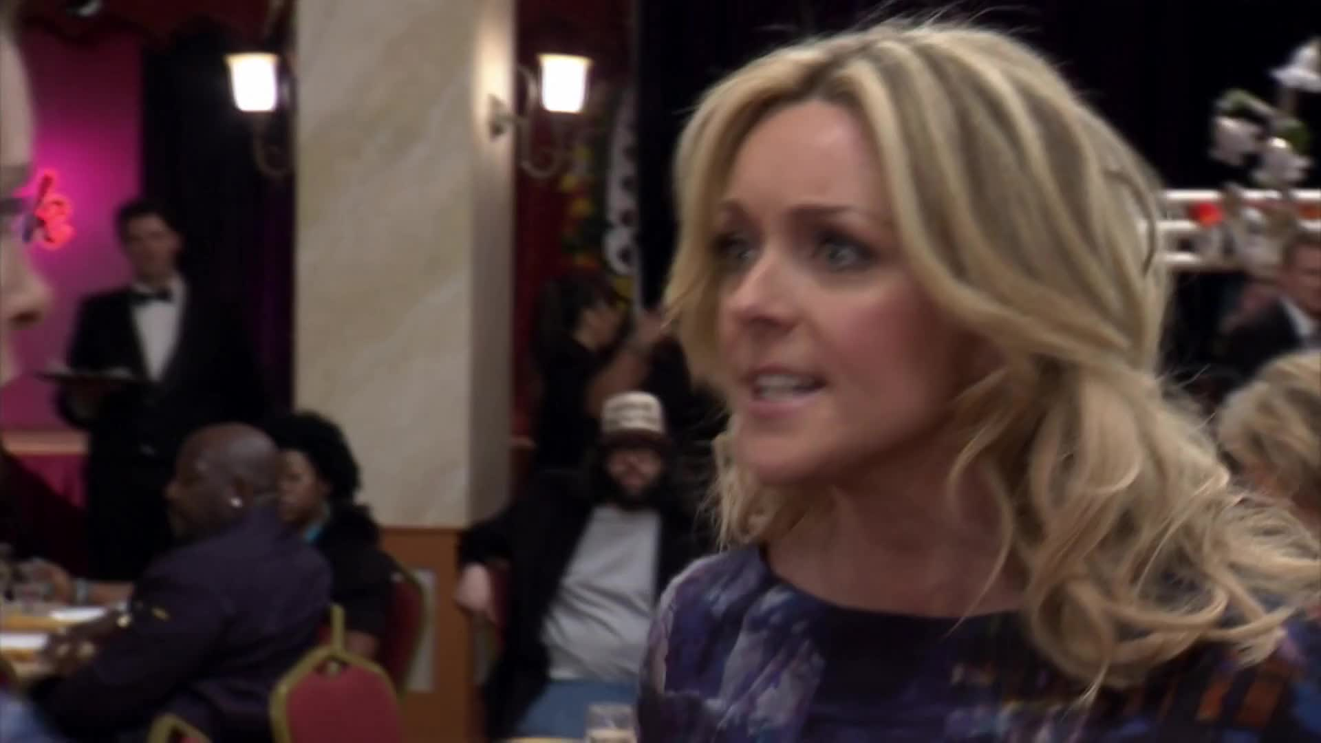 30 ROCK, Jane, Jenna, Jordan, Krakowski, Maroney, Queen, S06E20, celebs, class, have, jane krakowski, not, of, prostitution, whore, you, You have no class! You prostitution whore! GIFs