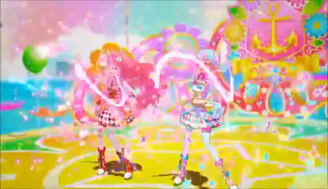 "Watch and share Aikatsu Stars! Episode 55 ""Bon Bon Voyage"" アイカツスターズ!55話 ""Bon Bon Voyage"" GIFs on Gfycat"