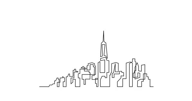 Watch and share City-drawing-hd GIFs on Gfycat