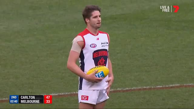 Watch Welcome back Jesse Hogan - AFL GIF on Gfycat. Discover more Football, Footy, Highlights, afl, goals, handballs, kicks, marks GIFs on Gfycat