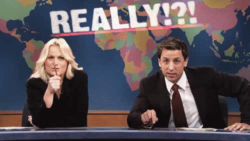 Amy Poehler, isthatso, really, yeahokay, really? GIFs
