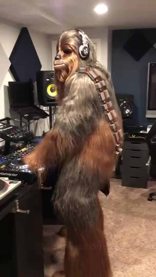 Watch and share Schewbacca Minimal Techno GIFs by tomekke on Gfycat