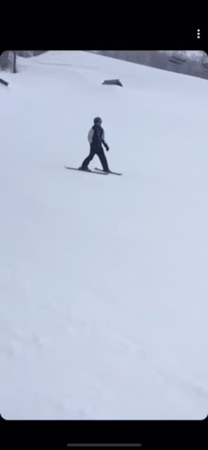 Watch and share Best At Skiing Btw GIFs on Gfycat