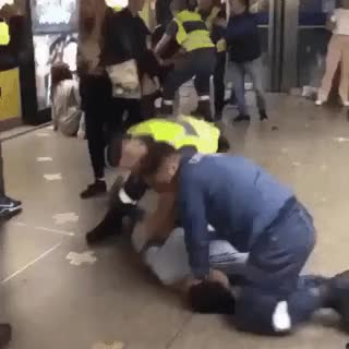 Watch Woman attacks cop, gets dealt with swiftly. • r/JusticeServed GIF on Gfycat. Discover more related GIFs on Gfycat