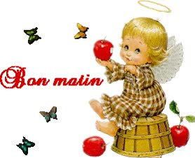 Watch and share Bon Matin- Beautiful Doll Image-wm22029 animated stickers on Gfycat