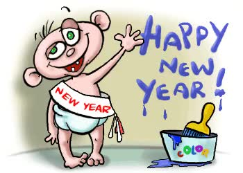 Watch and share Happy New Year Clipart Happy New Year Clipart GIFs on Gfycat