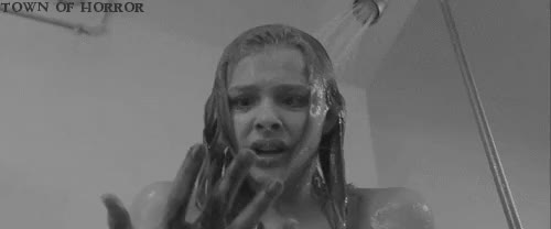 Watch Carrie (2013) GIF on Gfycat. Discover more Black and White, Carrie, Chloë Grace Moretz, Dark, Gif, Gifs, Horror, Horror movies, townofhorror GIFs on Gfycat