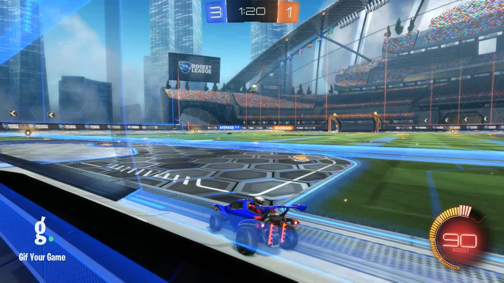 Gif Your Game, GifYourGame, Goal, Rocket League, RocketLeague, datboi, Goal 5: datboi GIFs